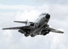 Image of the McDonnell F-101 VoodooInterceptor / Reconnaissance Aircraft