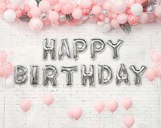 Pink 21st birthday #birthdaydecor #balloons #21stbirthday