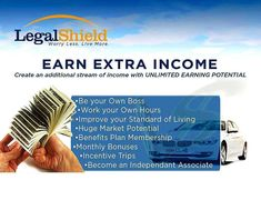Want to Earn Extra Income, ask me how! You can WILL your book of business to your family. Leverage and Residual Income.