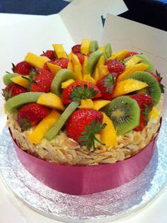 Time for Cake Buttercream Cake, Fruit Salad, Fresh, Food, Buttercream Ruffles, Fruit Salads, Essen, Meals, Eten