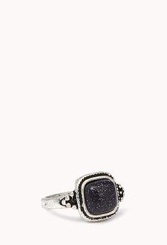 Antiqued Square Ring | FOREVER21 - 1078738882