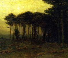 Charles Warren Eaton | Tonalist landscapes painter | Tutt'Art@ | Pittura * Scultura * Poesia * Musica |
