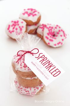 Easy gift idea for Valentine's Day--sprinkled with love!