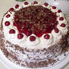 Perfect black forest cake