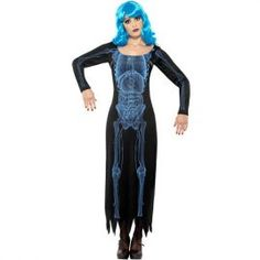 Costume femme rayons