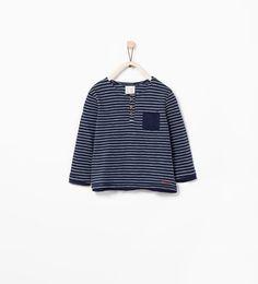 Image 1 of YELLOW T-SHIRT from Zara