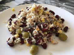 Salade de fond de placard – Cooking Smala Oatmeal, Breakfast, Food, Salad, Kitchens, Cupboard, The Oatmeal, Rolled Oats