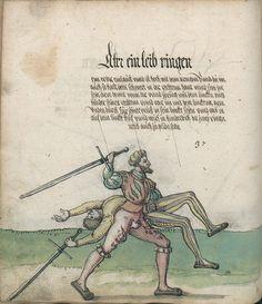 Title: Goliath (MS Germ.Quart.2020), Page: Folio 55v, Date: 1510-1520