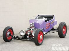 Check out The Grimes Collection which are Six examples of the car as art in the form of one man roadsters - Street Rodder Magazine Traditional Hot Rod, T Bucket, Pedal Cars, Mini Bike, Street Rods, Electric Cars, Kustom, Hot Rods, Lakes