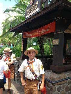 Yesterday the new interactive game Wilderness Explorers opened at Disneys Animal Kingdom at Walt Disney World. The game is based on the Boy Scout-esque troop Russell is a member of in the movie Up. The main objective of the game is to travel around