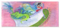 by Sandra Louis White Illustration, Fictional Characters, Art, Illustrations, Kunst, Fantasy Characters, Art Education, Artworks