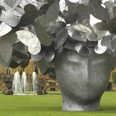Example of Manolo Valdes work  which has recently exhibited at Monumental Sculpture, The New York Botanical Garden.