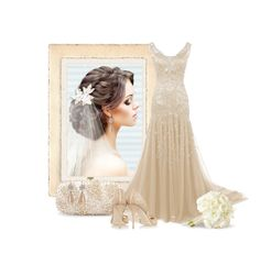 """""""Wedding"""" by dutchsparky ❤ liked on Polyvore featuring Oscar de la Renta, Press, Jimmy Choo, women's clothing, women, female, woman, misses, juniors and contest"""