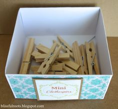 DIY Storage/Organizing Boxes {Made From Card Stock}