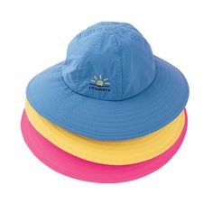 Kids Wide Brim Hat - Solumbra: All Day 100+ SPF Sun Protective Clothing - Style# 87200