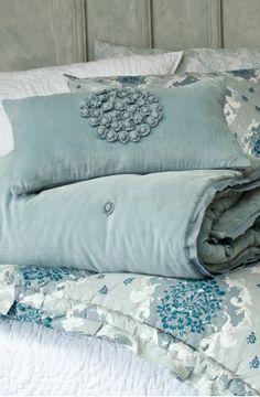 Borja Duck Egg Comforter, Bianca Lorenne