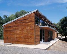 Charmante maison bois contemporaine d'inspiration japonaise en Californie, Usa