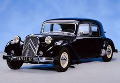 Traction Avant, such a classy classic