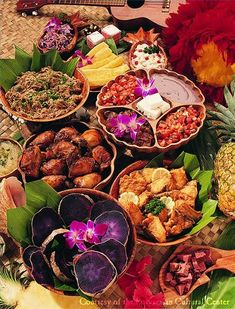 Food for a Hawaiian Party