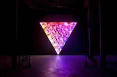 Primary lighting installation by Flynn Talbot