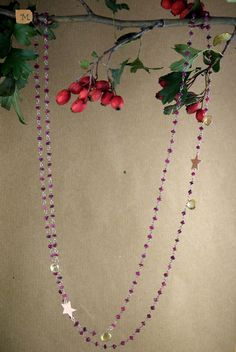 Granato rosso e gocce di quarzo citrino - MY HANDMADE JEWELRY by Maria Teresa Maresa Costanzo - Italy https://it.pinterest.com/mteresacostanzo/my-handmade-jewelry/  -- Facebook: http:/www.facebook.com/maresabijoux/ -- Instagram: @maresacostanzo