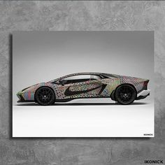 #Lamborghini Knit Canvas, now available !! Tag a friend that would want this !!