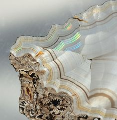 Iris Agate  by Woods's Stonework & Photo Factory