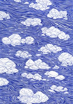 River flow 21 x ink on paper, Kevin Lucbert, Art Inspo, Stylo Art, Illustrations, Illustration Art, Art Graphique, Art Design, Textures Patterns, New Art, Art Prints