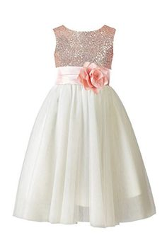 Belle House Long Rose Gold Flower Girl's Dresses Tulle Se... https://www.amazon.com/dp/B01HSY0B6S/ref=cm_sw_r_pi_awdb_x_oM7qyb6X7HVC0