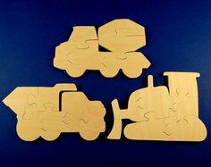 Puzzles,3D-Puzzles,Puzzles aus Holz Farm Animals Block Puzzle Baby Spielzeug