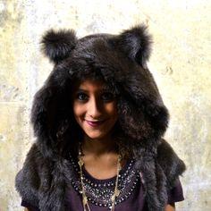 The Brown Bear Bolero - Dress up hood £46.00