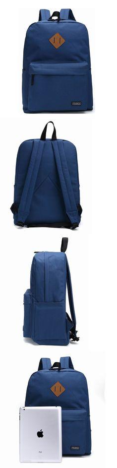 5b04cd439c08 Storage Bags 43504  Thikin Blue Bookbag Basic Backpack Casual Light  Rucksacks Outdoor Travel N -