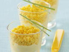 Verrines d'oeuf mimosa une façon très originale de présenter ce classique Les recettes de cuisine et mets