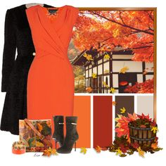 """""""Autumn Leaves"""" by lmm2nd on Polyvore"""