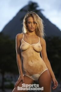 2014 Sports Illustrated Swimsuit Body Paint Rookie