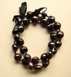Vintage Hawaiian Kukui Nut Lei - I have this for him