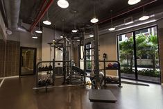 The fitness center a