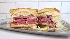 Corned Beef Reuben Sandwich - MUNCHIES  https://www.youtube.com/watch?v=3uN2sUXE3mY