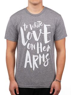 Likeness Shirt -- Available in Multiple colors in the TWLOHA Online Store