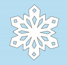 Learn How to Make Paper Snowflakes with this step-by-step tutorial. Paper snowflakes make phenomenal DIY Christmas decorations and can be kept up all winter. This snowflake template is also easy enough for kids even though adults will love it too. Paper Snowflakes Easy, Snowflakes For Kids, Paper Snowflake Patterns, Snowflake Template, Simple Snowflake, Snowflake Decorations, Christmas Decorations, Office Decorations, Christmas Crafts For Kids