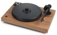 Pro-Ject 2 Xperience SB DC Turntable Walnut Ortofon Silver - Record Player for sale Electronic Speed Control, Stereo Turntable, Blue Point, Audio Room, Belt Drive, Hifi Audio, Record Player, Audio System, Audiophile