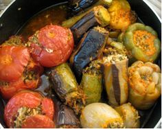 Lauren Toutikian Dolma: Armenia Dolma is considered to be a classical main dish in the Armenian culture. It consists of a variety of vege. Armenian Recipes, Lebanese Recipes, Turkish Recipes, Greek Recipes, Armenian Food, Dolma Recipe Armenian, Kurdish Food, Persian Recipes, Bon Appetit