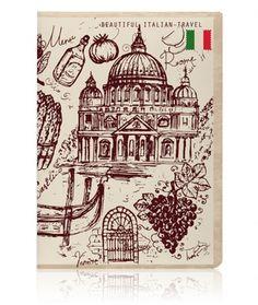 Обложка для паспорта Miusli 'Italy Vintage'