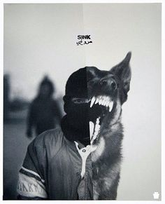 inner animals // awesome ad idea also #sorrynotsorry #lovewolves