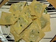 After this meal of Spinach And Ricotta Ravioli I have also bought myself a ravioli cutter to make it easier for me to get nice consistent shapes. Spinach And Ricotta Ravioli, Fresh Pasta, Vegetarian Cheese, My Recipes, Potato Salad, February, Lime, Shapes