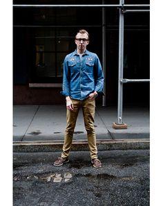 New York Street Style Photos by Ben Ferrari - Men's Street Style: Style: GQ