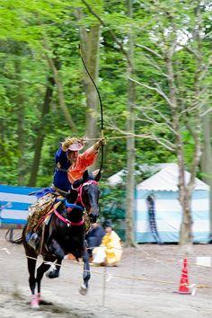 Yabusame Festival in Japan