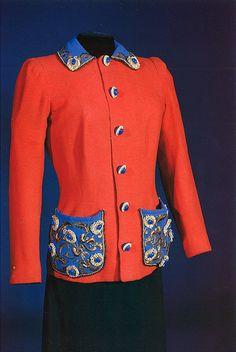 Evening skirt Elsa Schiaparelli Date  late 1940s  3c3b9061b104