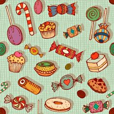 granny's charm fabric by chicca_besso on Spoonflower - custom fabric