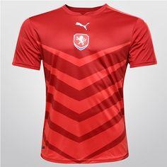 Camisa Seleção República Tcheca Home 2016 s nº Torcedor Puma Masculina - Compre  Agora 25462fcc35b80
